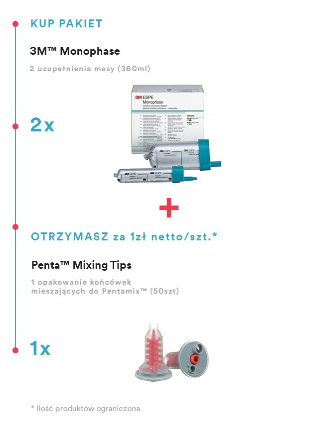 3M™ Monophase x2 + Mixing tips